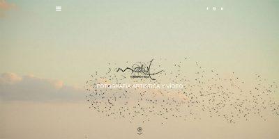 Portada de la web de Melul Fotografía y Vídeo