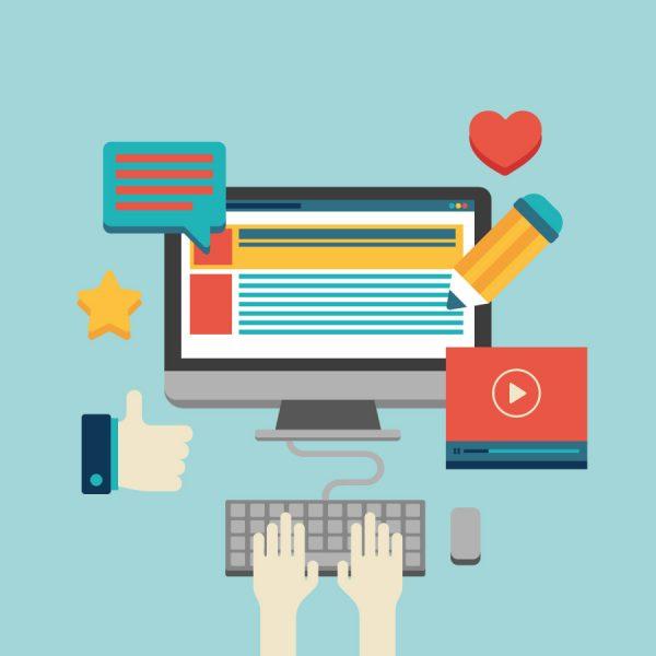 Generación de contenido en redes sociales