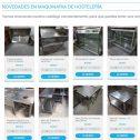Novedades tienda online maquinaria de hostelería Ginés José