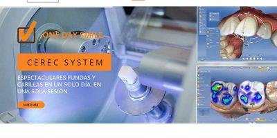 Portada de la web de Clínica Dental Dr. Vicente Ferrer