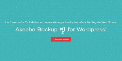 Akeeba Backup para Wordpress copias de seguridad