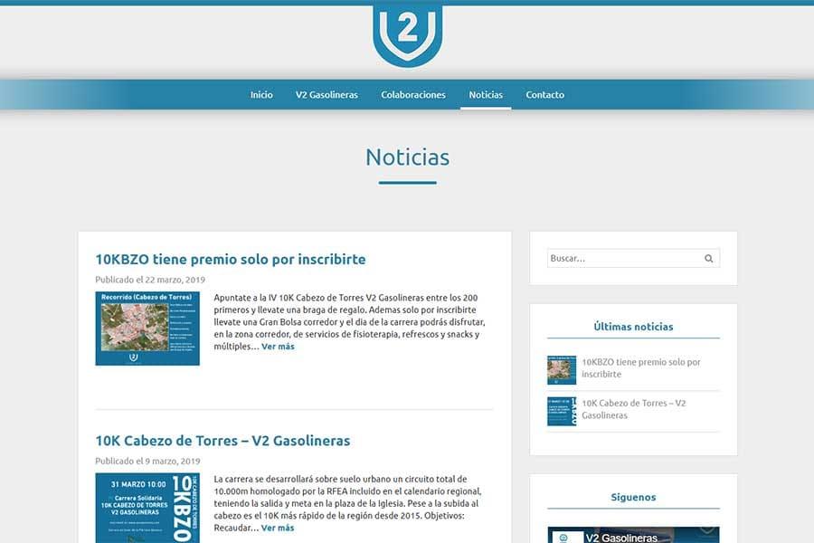 V2 Gasolineras blog