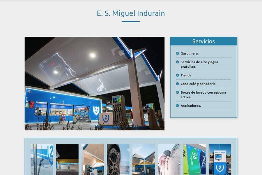 V2 Gasolineras Miguel Indurain Murcia