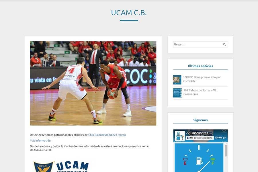 V2 Gasolineras UCAM Murcia