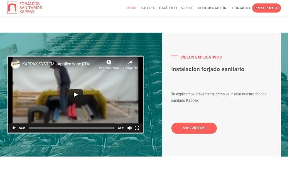 Vídeo web Forjados Sanitarios